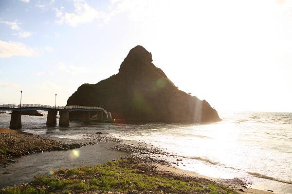 盃海水浴場 弁天島