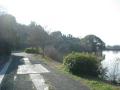 160103水上池を回りこむ自転車道