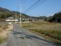 160103恭仁大橋を渡り、奥畑~石寺のアップダウンへ