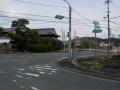 160206大柳生の交差点を須川方面へ
