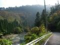 131116ウッディー京北から桂川沿いの道1