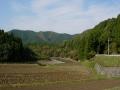 131116ウッディー京北から桂川沿いの道2