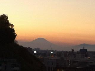 近所から富士山2