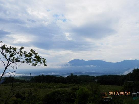 雲海、浅間山
