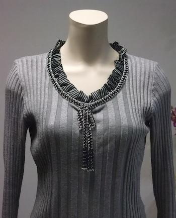 散歩道セーター