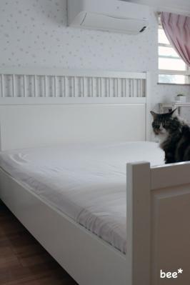 IKEA ベッドシーツ