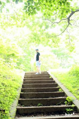 神津牧場の新緑