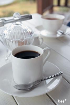chaguraでランチ後にお茶