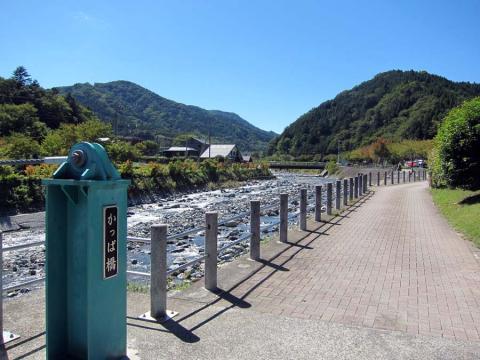 道の駅どうし・河童橋