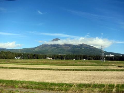 05車窓から磐梯山