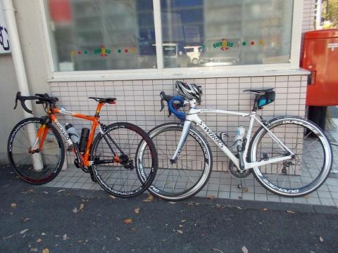 M角さんと僕のバイク
