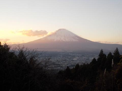乙女道路からの富士山1