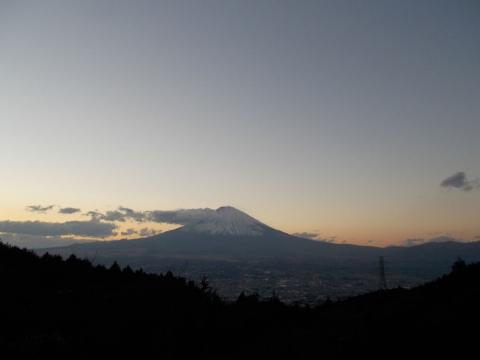 乙女峠の富士山1