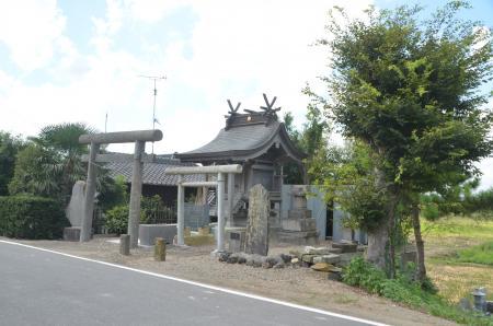 20130902鳥見神社・長門屋01