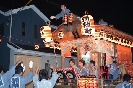 20131012佐倉秋祭り 第2夜06