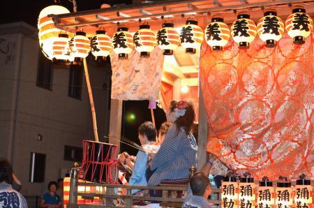 20131012佐倉秋祭り 第2夜05