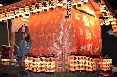 20131012佐倉秋祭り 第2夜03