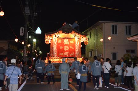 20131012佐倉秋祭り 第2夜01