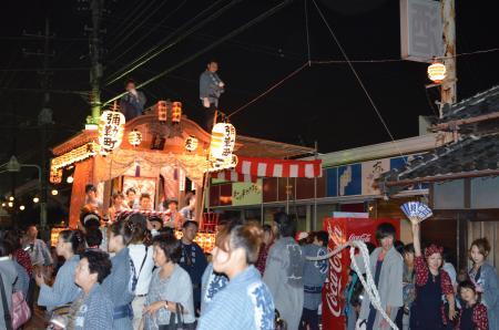 20131012佐倉秋祭り 第2夜09