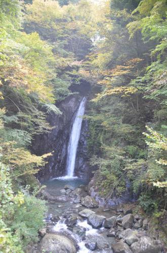 20131101エビラ沢の滝02