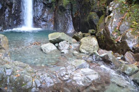 20131101エビラ沢の滝10