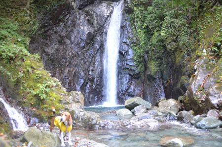 20131101エビラ沢の滝08