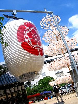 八坂神社の提灯1