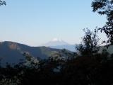 富士見台近くから見た富士山