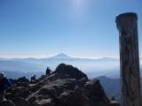 乾徳山の頂上