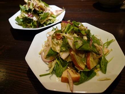 かぶとりんごのサラダ2