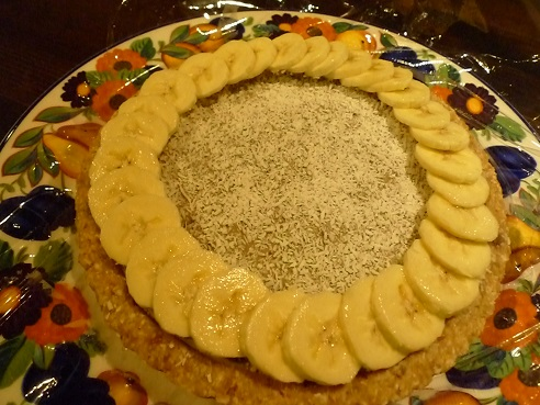バナナタルト1