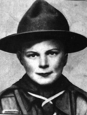 8歳の時のクリスティ