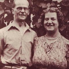 クリスティと妻エセル