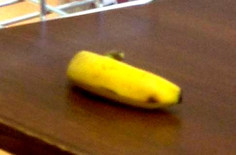 バナナと001