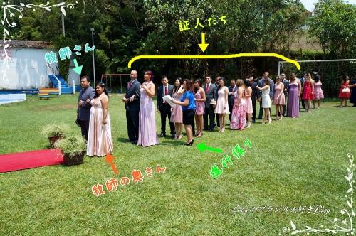 0-Loby家の結婚式 証人たち