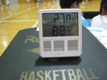 コーチのざわごと-温度・湿度計090729