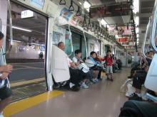 コーチのざわごと-in the Train