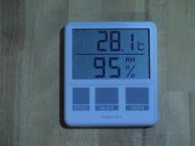 コーチのざわごと-温度・湿度計2