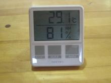 コーチのざわごと-温・湿度計
