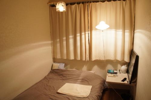 寝室とガーゼケット