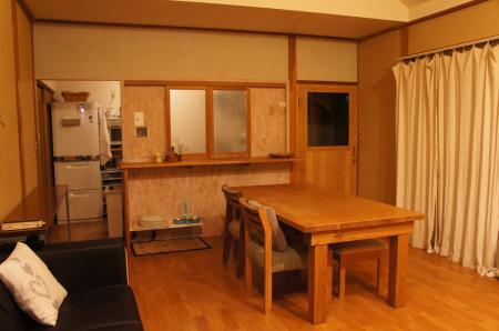 キッチンの窓2