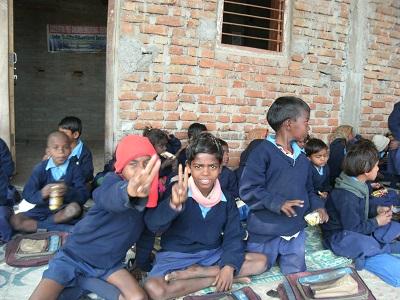 スジャータ村の学校