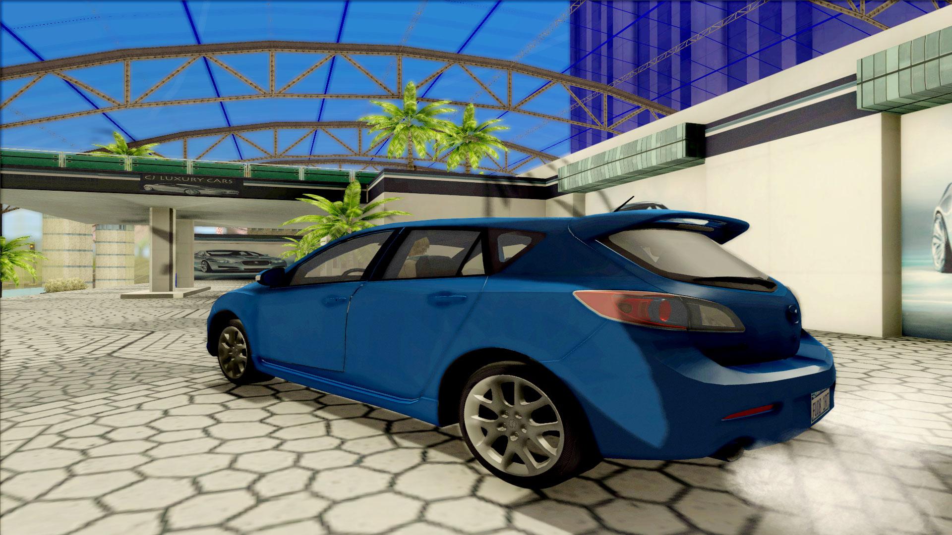 2010 mazda mazdaspeed 3 gtasa collectors mod for Mazdaspeed 6 exterior mods