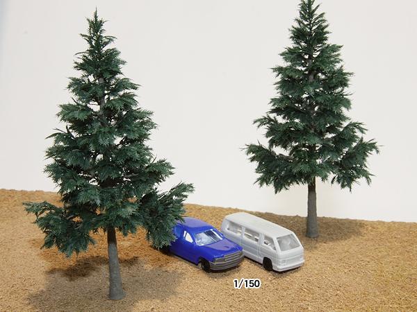 リアルツリー・深緑の針葉樹(80)4