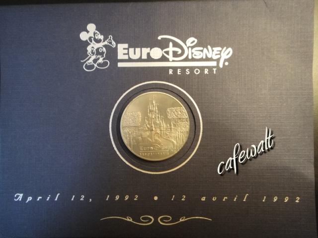 Euro Disney Medal 1