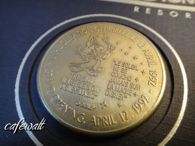 Euro Disney Medal 6