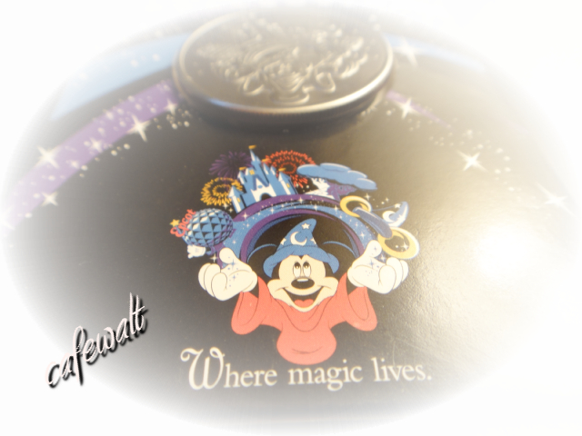 WDW where magic lives coin 1