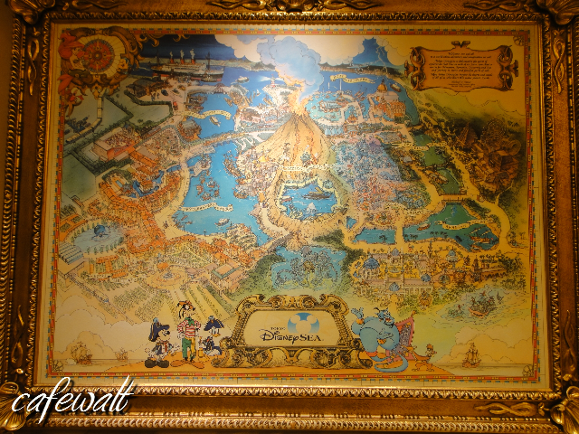 TDS picture map in Hotel Miracosta