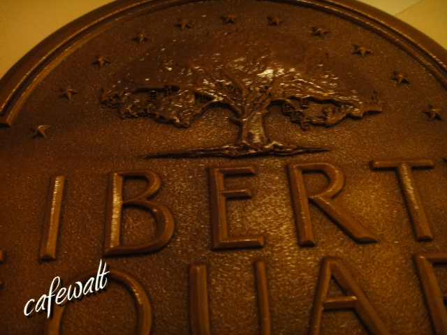 Liberty Square Trash Can Plaque 3