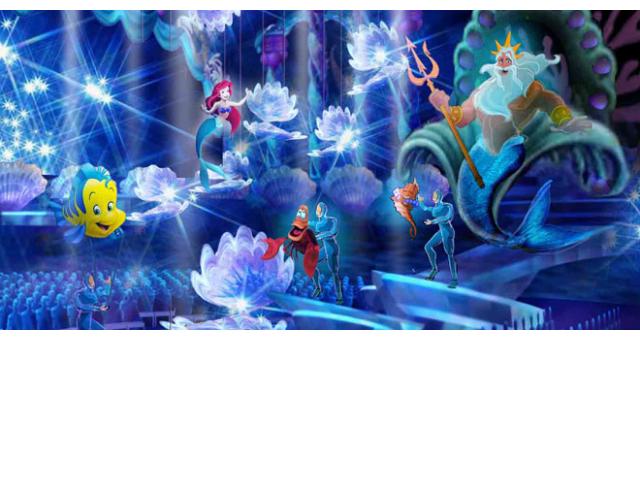 New Mermaid Lagoon theater